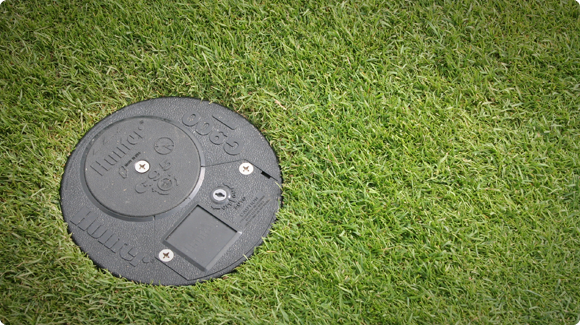 G900 Series Golf Rotor Installed on Golf Course