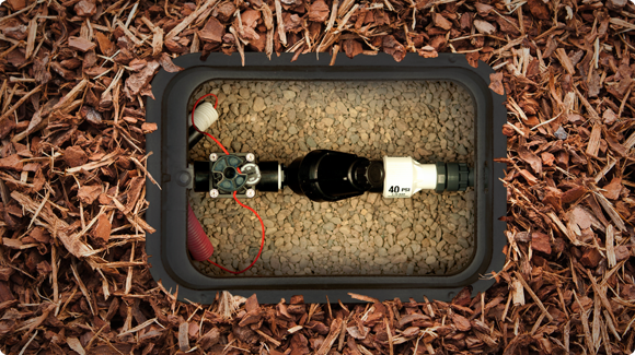 Irrigation Drip Kit in Valve Box