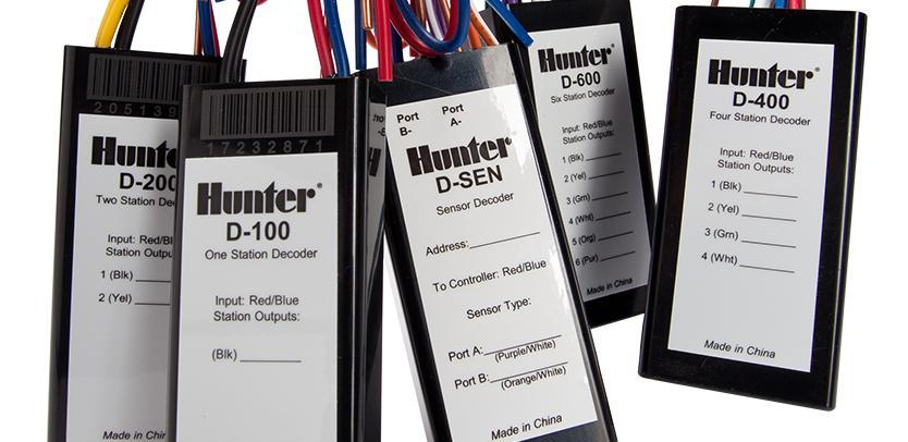 D Series Decoders Hunter Industries