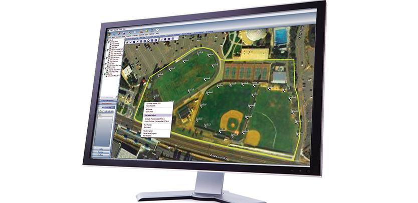 Hunter IMMS irrigation central control software