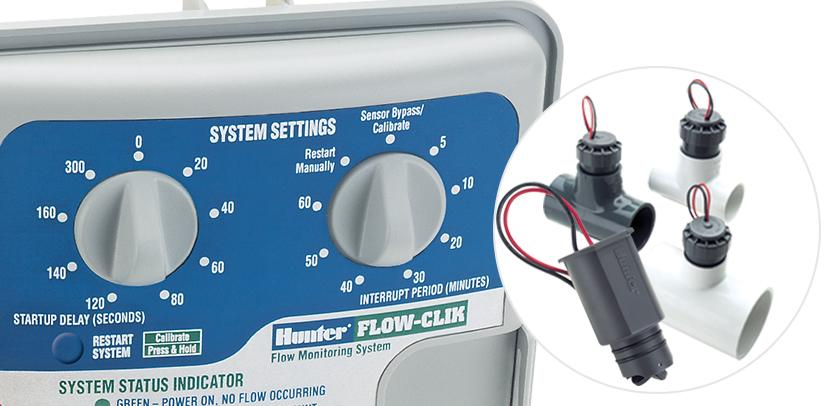 Hunter Flow-Clik irrigation sensor