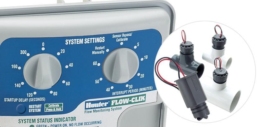 Hunter Flow-Clik irrigation sensor