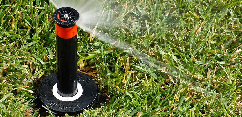 Hunter Pro-Spray sprinkler spray body with nozzle