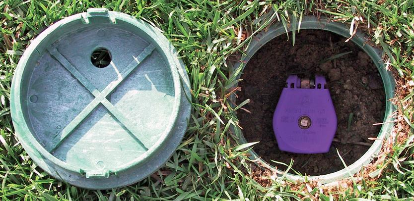 Quick Coupler for irrigation system