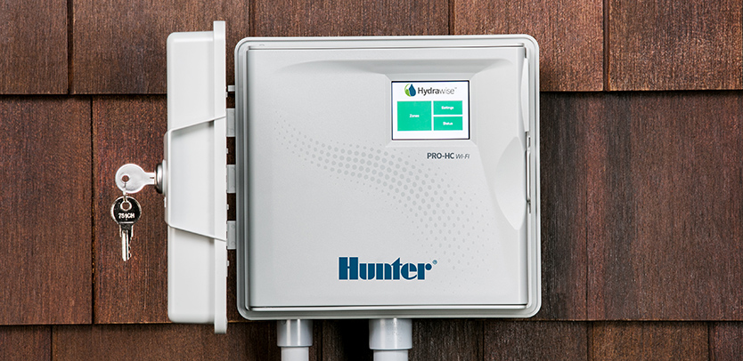 Hunter Pro-HC with Hydrawise wi-fi