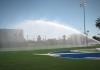 Rotor Running on Sports Field