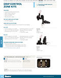 Drip Control Zone Kits Product Cutsheet
