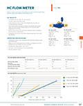 HC Flow Meter Product Cutsheet