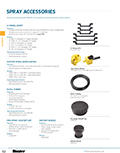 Spray Accessories Product Cutsheet