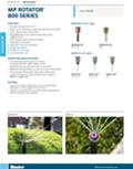 MP Rotator® MP800 Series Spec Sheet