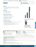 RZWS Product Cutsheet