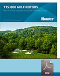 TTS-800 Golf Rotors Brochure