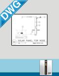 Solar Panel Installation Detail (DWG)