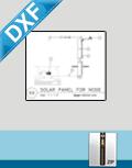 Solar Panel Installation Detail (DXF)