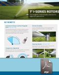 "1"" I-Series Rotors Competitive Advantage Sheet"