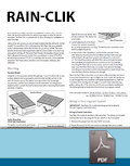 Rain-Clik Instruction Card