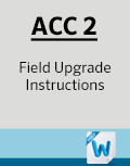 ACC2 Field Upgrade Instructions