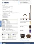 IH Risers Product Cutsheet