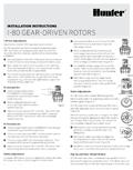 I-80 Installation and Adjustment Instructions