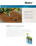 ROOT ZONE WATERING SYSTEM Brochure