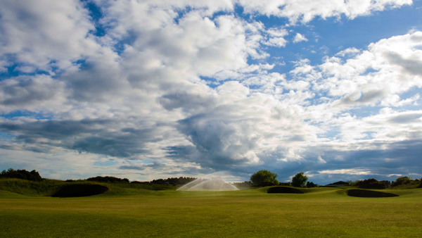 Carnoustie Golf Course Irrigation with Hunter Sprinklers