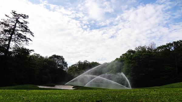 Golf Sprinkler System at Highland Falls