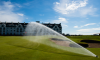 Carnoustie Golf Course With Hunter Rotor Sprinkler