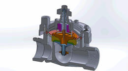 Animation: Valve Diaphragm Operation