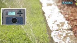 التشغيل اليدوي لجهاز تحكم X2, X2 Irrigation Controller Manual Operation