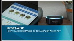 Adding Hydrawise to Amazon Alexa app