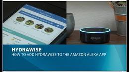 Adding Hydrawise to Amazon Alexa app