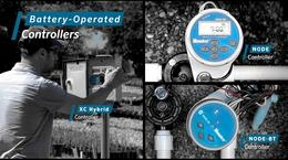 Battery Operated Controllers provide irrigation solutions