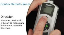 Control Remoto ROAM - Programación