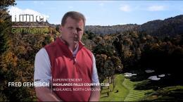 Golf Site Study: Highlands Falls Country Club, Highlands, North Carolina