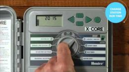 How to Adjust a Hunter X-Core to comply with water restrictions
