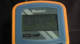 Hunter Dual Two-Wire Installation: Programming with the ICD-HP Handheld Programmer 8 of 8