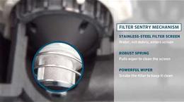 Hunter ICV Valve with Filter Sentry™ Technology