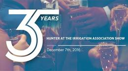 Hunter Industries at the Irrigation Association Show, 2016