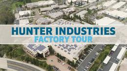 Hunter Industries Factory Tour
