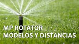 Guía de Productos MP Rotator: Modelos y distancias