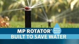 MP Rotator: Water Savings