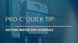 Pro-C Basic: 04, Pro C Water Days
