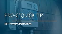 Pro-C Basic: 07, Pump Operation