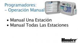 Programadores - Operación Manual