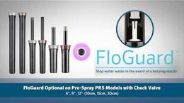 Pro-Spray with FloGuard™: Save Water the Instant a Missing Nozzle is Detected