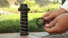 Replacing a Hunter Rotor Riser Seal