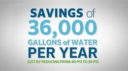 Water Saving Pressure Regulation Irrigation Retrofit Options