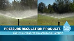 Water Savings: Using Pressure Regulation