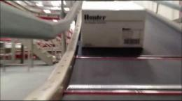 Where is this box going?? An inside peak at Hunter's shipping facility