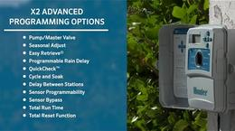 X2 Irrigation Controller Advanced Offline Program Features Overview